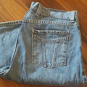 Eddie Bauer Femme style crop jeans